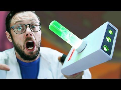 DIY Rick & Morty PORTAL GUN - Erik Builds the Movies #6