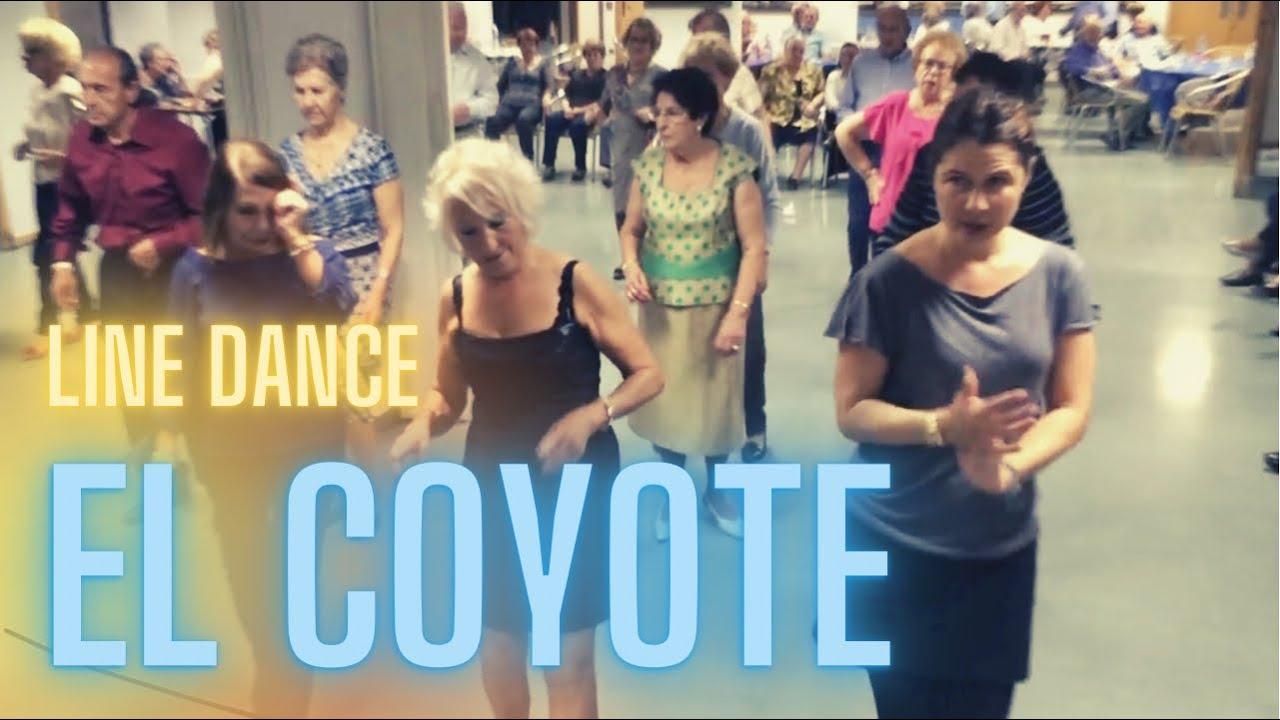 Baile en Linea - El Coyote ( Country ) - YouTube