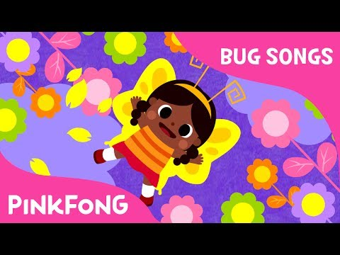 If I Were a Butterfly | Bug Songs | Pinkfong Songs for Children