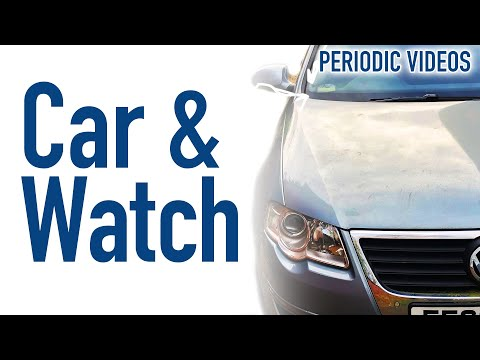 The Professor's Car And Watch - Periodic Table Of Videos
