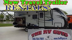 Camper Rental Dallas Area! Brand New Trailer Rentals Now Available from The RV Guys!