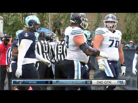 #CAAFB Highlights Oct 13: Maine 38, Rhode Island 36
