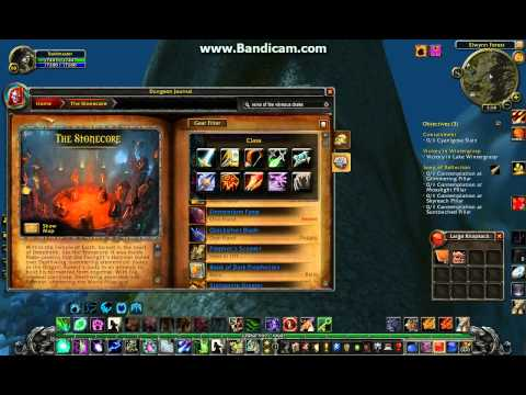 world of warcraft, dungeon journal