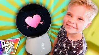 OUR NEW FAMILY ROBOT PET! 🤖