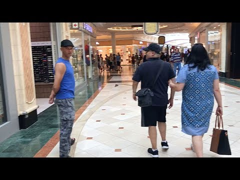 Browsing through Canal Walk Shopping Centre