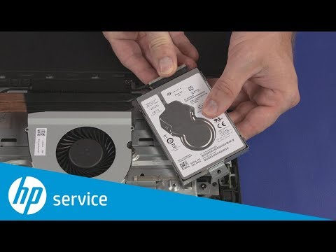 Replace the Storage Drive Assembly | HP Pavilion All-in-One 27, 24 PC | HP