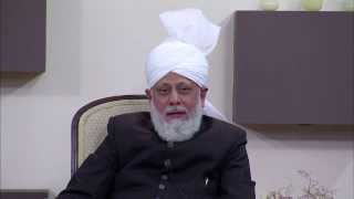 Huzoor's speeches about world peace and time required to change world's views