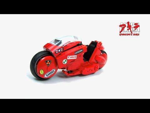 Lego Technic RC Kaneda's bike from AKIRA