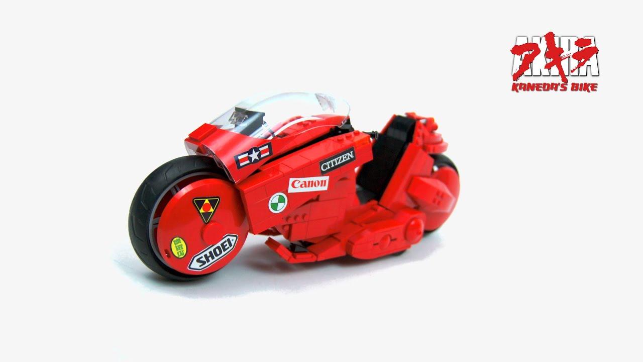 画像: Lego Technic RC Kaneda's bike from AKIRA youtu.be