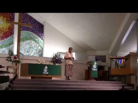 Mary Decker Preaches 7-21-13