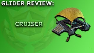 Cruiser Glider Review + Sound Showcase! ~ Season 5 BP Item ~ Fortnite Battle Royale