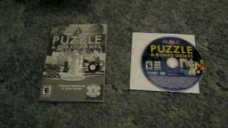 Hoyle Puzzle & Board Games (2008) - Win/Mac - DVD