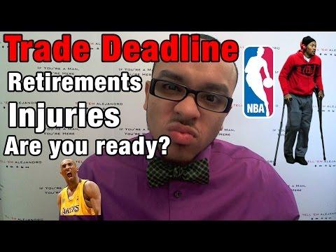 TEA: 2015 NBA TRADES, RETIREMENTS, INJURIES, Derrick Rose, Kobe Bryant, Kevin Garnett, Rajon Rondo