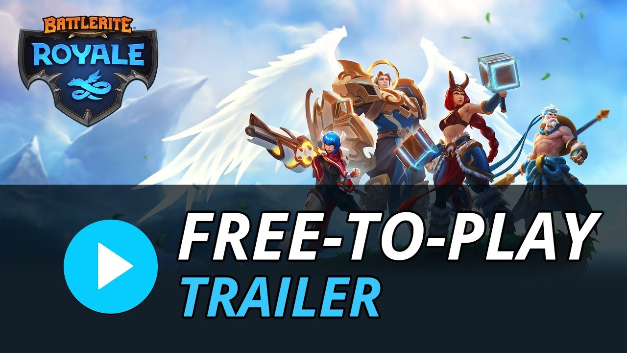 Battlerite Royale - Free-To-Play Trailer