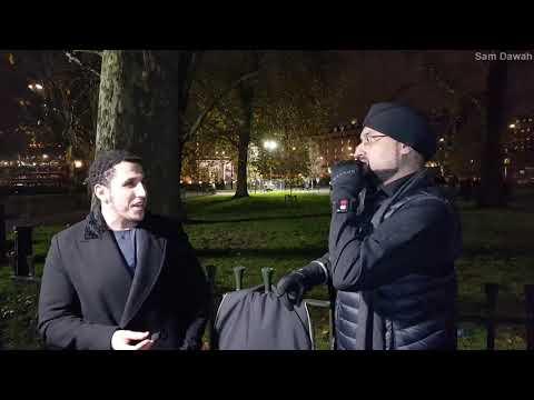 P1 Br Shamsi meet raj Speakers Corner Hyde Park