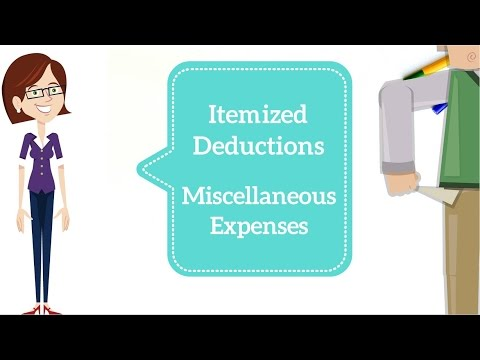 Miscellaneous Expenses Deduction - Taxation in the USA