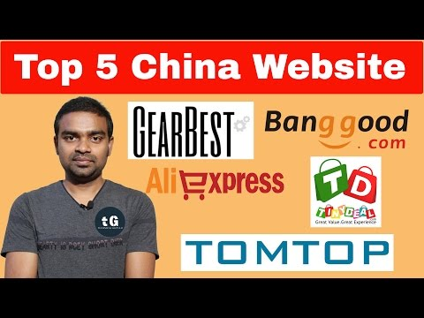 Top 5  Chinese Websites for Shopping in India | Best Chinese Online Store !!!