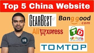 Top 5  Chinese Websites for Shopping in India   Best Chinese Online Store !!!