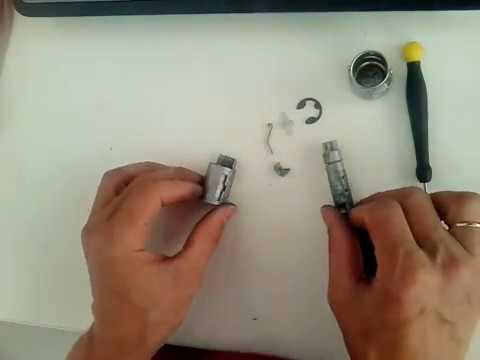 Как разобрать личинку замка зажигания форд фокус 2