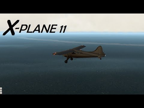 X-Plane 11! Flight Across the Congo, Africa!