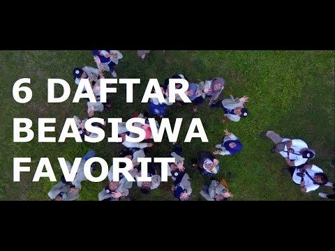 6 DAFTAR BEASISWA FAVORIT MAHASISWA