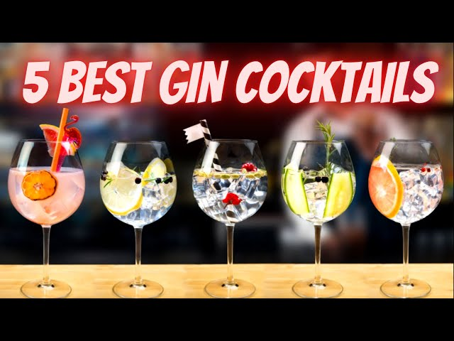 5 Best Gin Cocktails