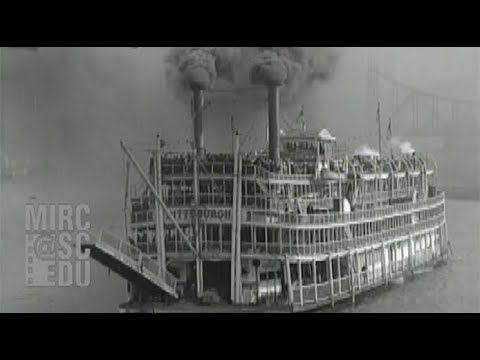 Opening Of The Nine-Foot Channel On The Ohio River, 1929
