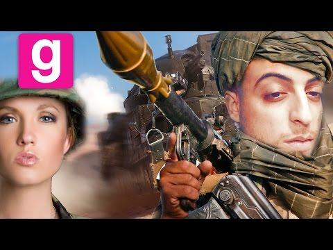 L'amour entre un Taliban et une Américaine : LE FILM #GMOD DARK RP