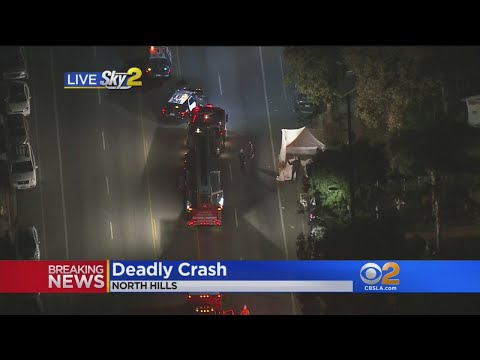 Deadly Car Crash Reported In North Hills
