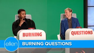 Michael B. Jordan Plays 'Burning Questions'