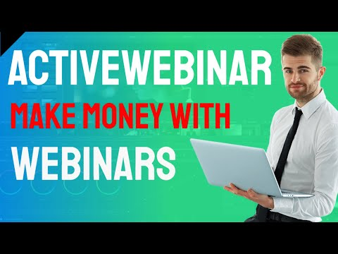 Get ActiveWebinar: Make Money with Webinars from YouTube · Duration:  6 minutes 13 seconds
