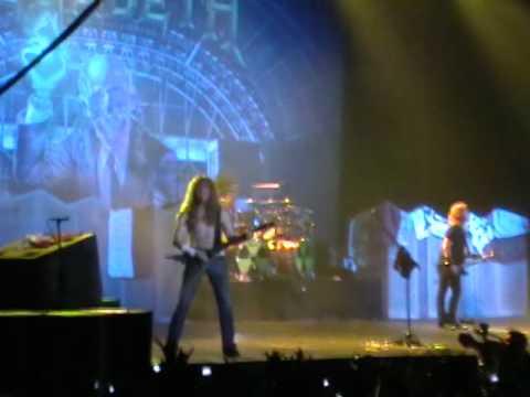 Megadeth - Trust - Santiago/Chile 2010