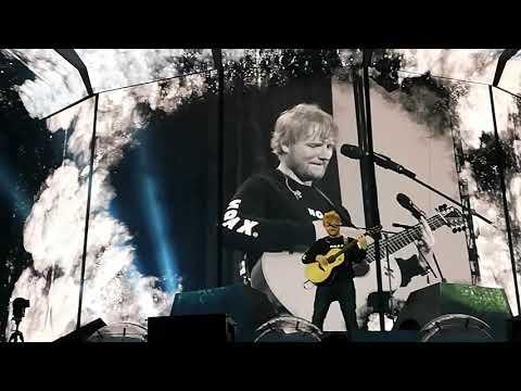 Ed Sheeran – Blow first time live – Prague, July 7th, Divide world tour 2019