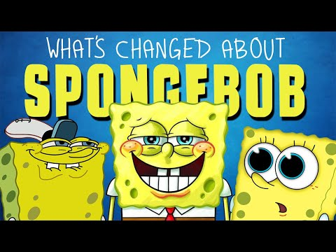 The Woody Show - How The Design Of Spongebob Has Changed Over The Years