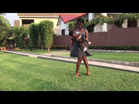 GHANA VLOG #12 || FIRST DAY IN GHANA || GOING TO TEMA || CHEZ CLARISSE || ADEDE