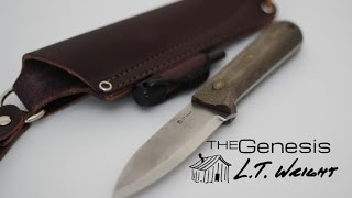 Black Scout Reviews - L.T. Wright Genesis Knife