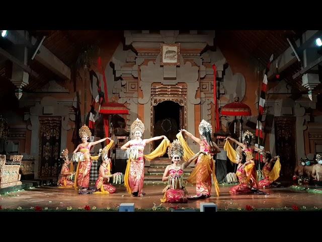 Opening Dance Puspa Mekar at Balerung Stage Peliatan 2021