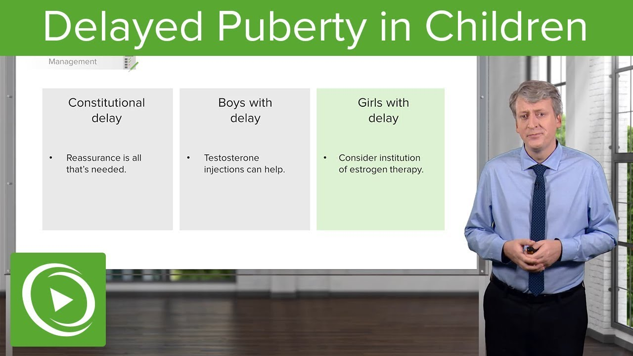 Delayed Puberty in Children – Pediatrics | Lecturio