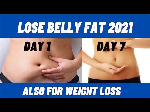 pierde belly fat fast 2021