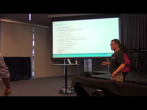 Hadoop Meetup (HUG) April 2014 - Apache Sentry Part 1/2