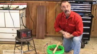 Woodworking Shop Diy Tips - Removing Rust With Electrolysis