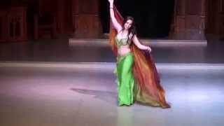 Patricia Belly Dance Ah W Noss - Nancy Ajram