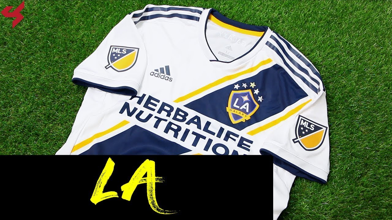 super popular 9ad7c 99daa Adidas LA Galaxy 2019 Home Jersey Unboxing + Review