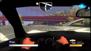 Driver San Francisco Chevrolet Corvette ZR1 (Gameplay)