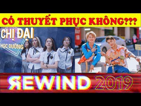 KẾT QUẢ ĐẦY BẤT NGỜ CỦA BXH YOUTUBE REWWIND 2019 - HẬU HOÀNG VÀ K-ICM ĐƯỢC VINH DANH