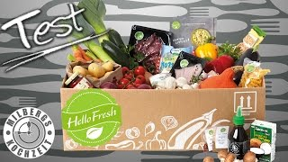 HelloFresh Unboxing Deutsch