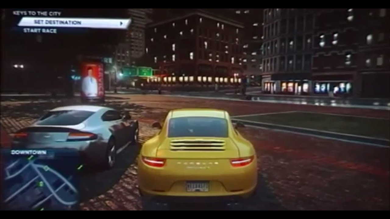 need for speed most wanted u on wii u youtube. Black Bedroom Furniture Sets. Home Design Ideas