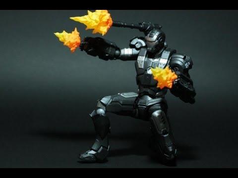 Toy Review: Revoltech Iron Man (War Machine)