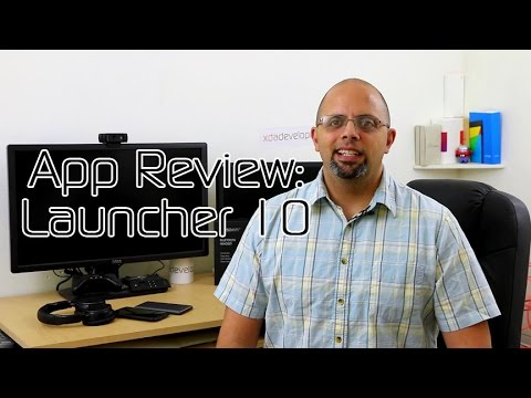 Launcher 10 for Your Enjoyment – XDA App Review