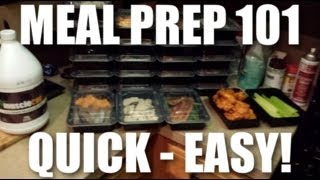 Meal Prep 101: How To Prep Meals The EASIEST Way